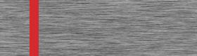 Material gravura - Argintiu periat/Rosu (150)