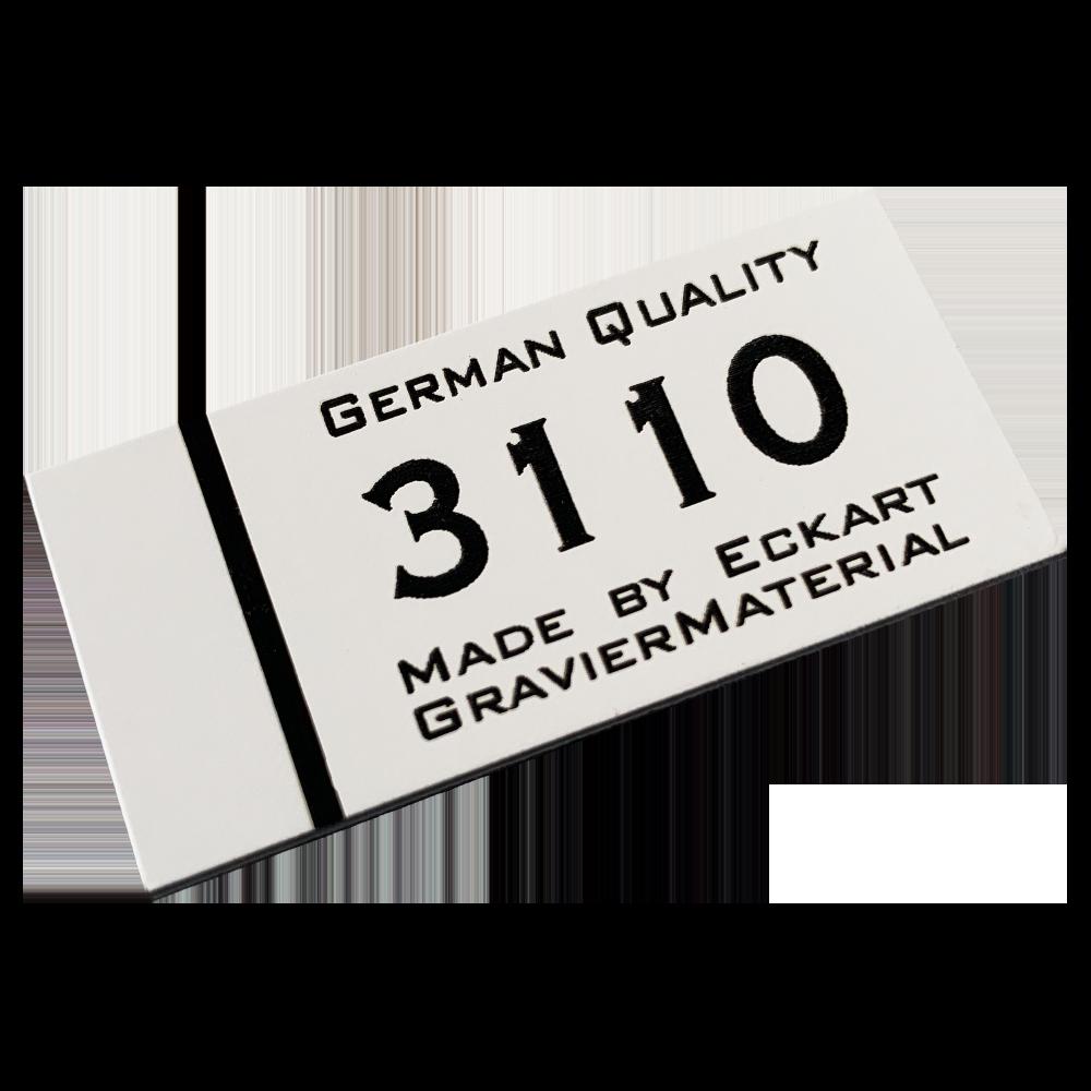 Material gravura - Alb/Negru (3110)