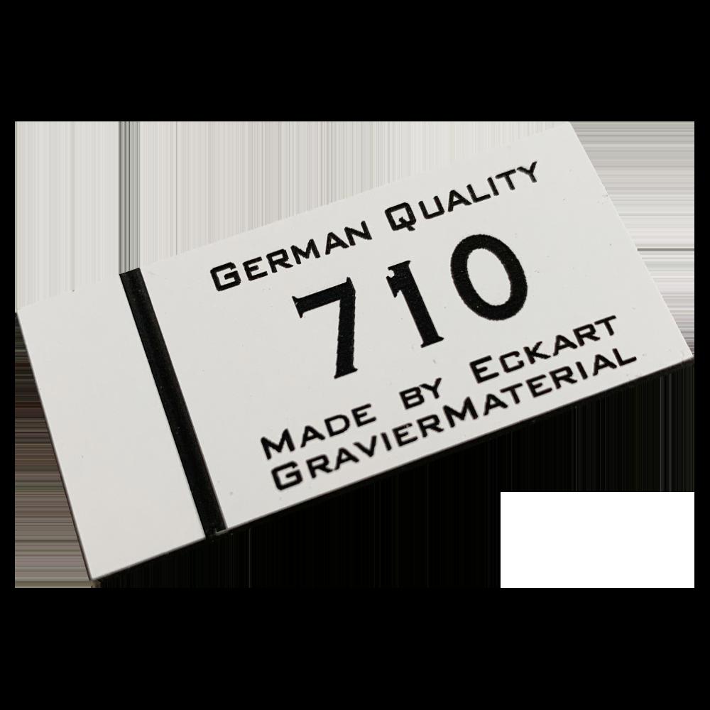 Material gravura - Alb/Negru (710)