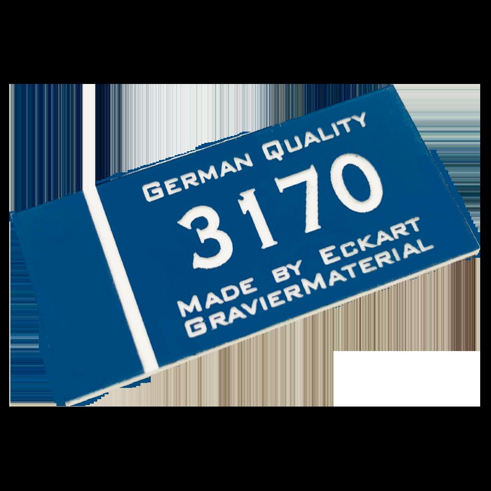 Material gravura - Albastru/Alb(3170)