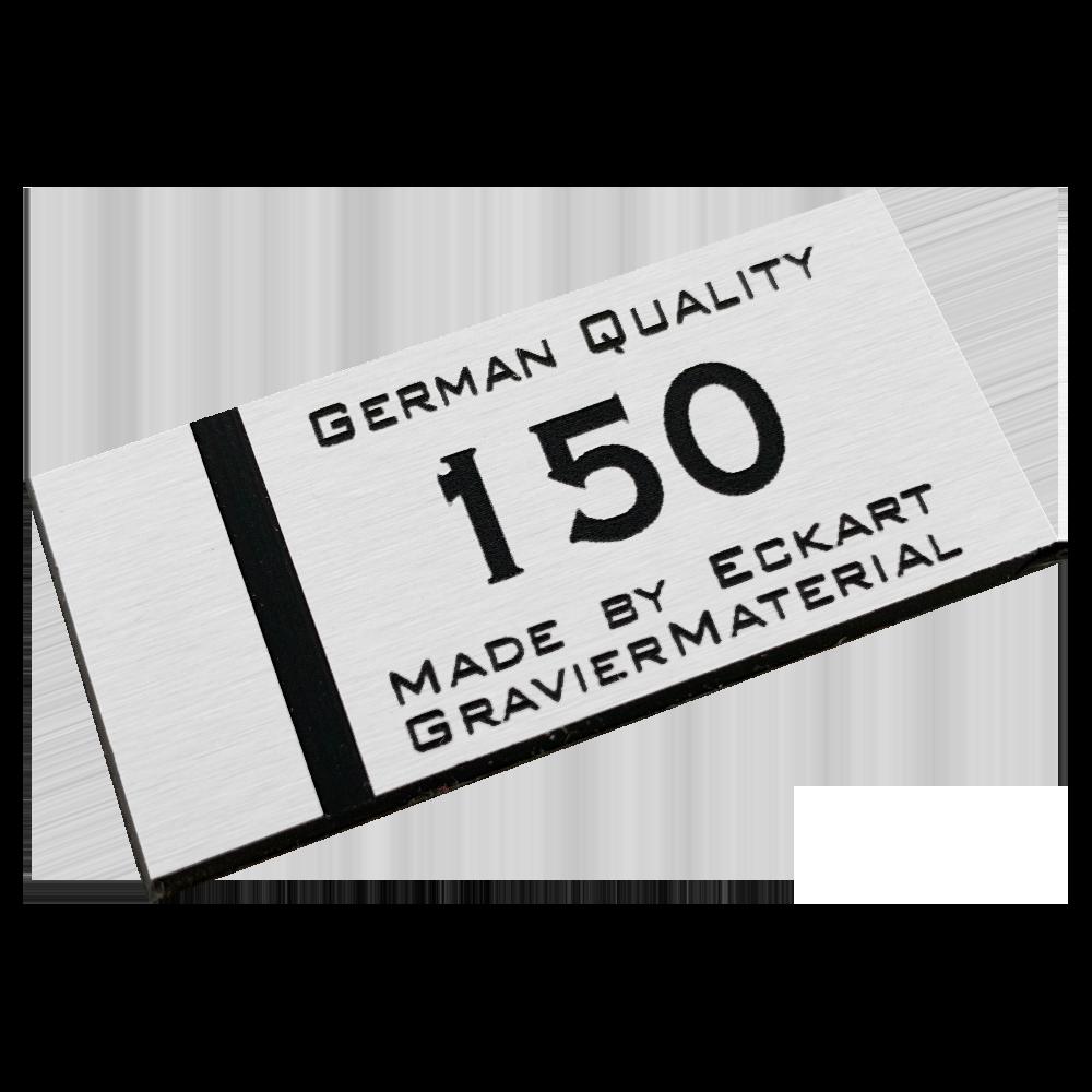 Material gravura - Argintiu periat/Albastru (150)