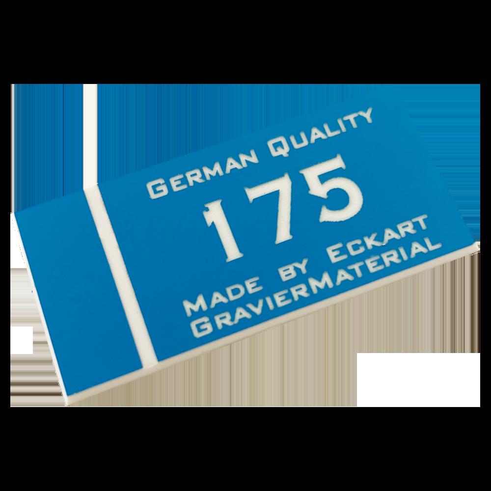Material gravura - Albastru/Alb (175)