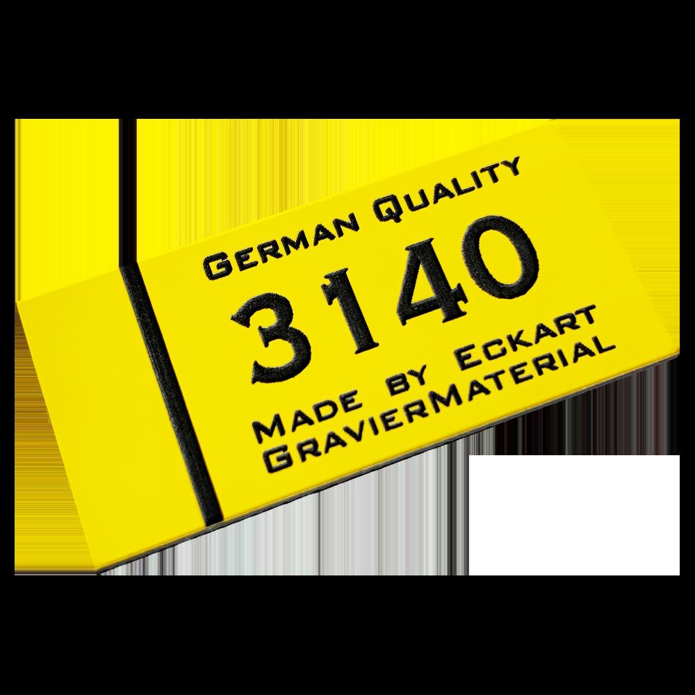Material gravura - Galben/Negru (3140)