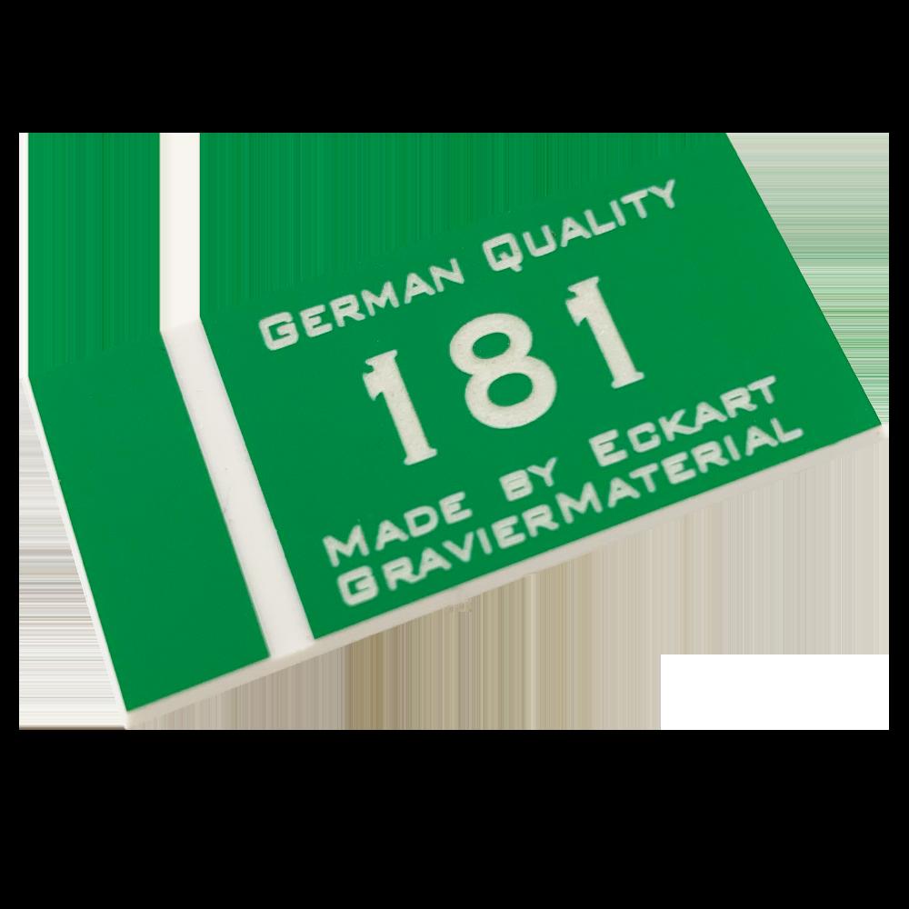 Material gravura - Verde/Alba (181)